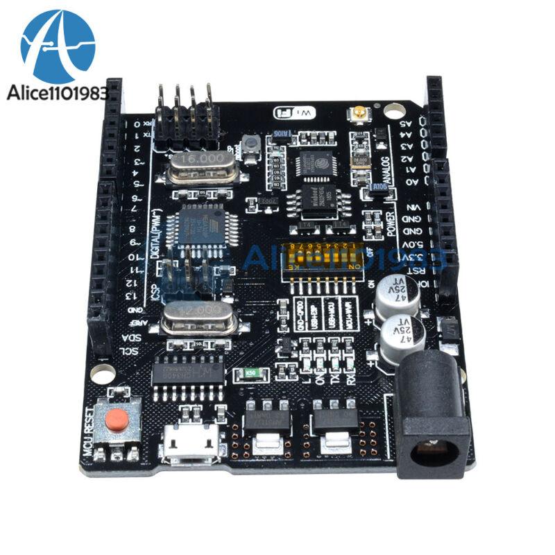 Uno+wifi R3 Atmega328p+esp8266 (32mb Memory) Usb-ttl Ch340g For Arduino Nodemcu