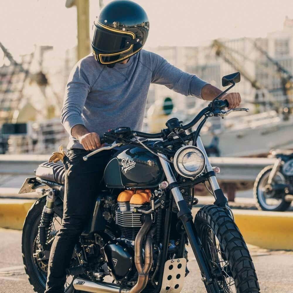 Motorbike Helmet Nexx Xg100 Devon Helmet Black And Gold