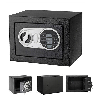 Electronic Safe Security Box Fireproof Keypad Lock Metal Steel Home Security