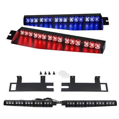 34 30 Led Rb Emergency Warning Strobe Light Bar Visor Deck Split Flash Vehicle