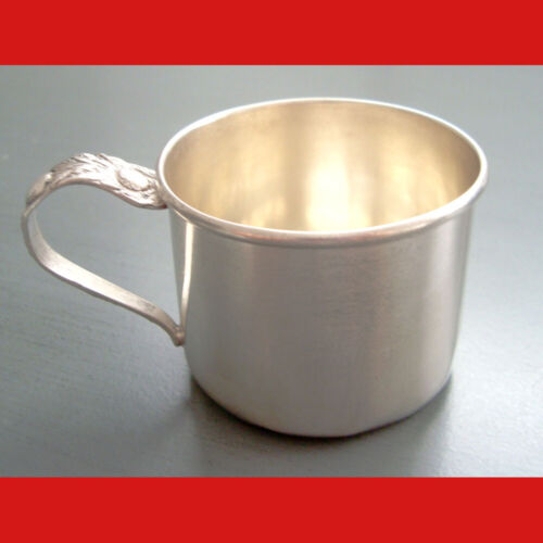 Vintage 1930s Rogers, Lunt & Bowlen Sterling Silver Baby Cup 29.7 g