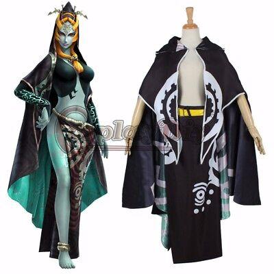 The Legend of Zelda Midna Costume Adult Women Halloween Carnival Cosplay Costume
