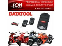 DATATOOL Motorcycle Scooter Motorbike Alarm Security Systems Immobiliser Supplied & Fitted