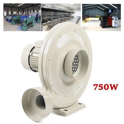 750w Centrifugal Air Blower Medium Pressure Industrial Dust Smoke Exhaust Blower