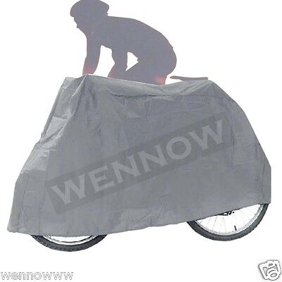 New Grey Color Waterproof Dust Resistant  Bike Cover