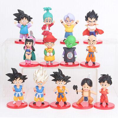 Dragon Ball Z Piccolo Kulilin Son Goku 13 PCS Anim Action Figure Cake Topper Toy](Piccolo Dbz)