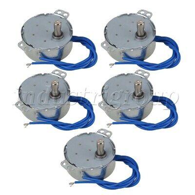 5x Ac 110v Synchronous Motor 4w 15-18rpm For Heating Fan Electric Fan