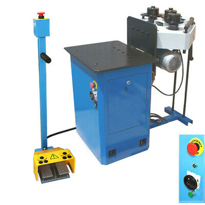 1hp Hv Ring Band Steel Roller Pinch Roll Bender Machine Round Square 1-14
