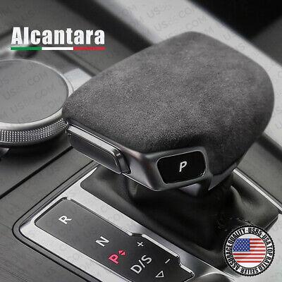 Alcantara Car Shift Knob Cover Replace for AUDI A4 S4 A5 S5 RS5 Q5 SQ5 Q7 16-20