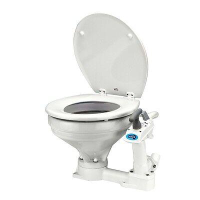 JABSCO BOAT Manually Operated Twist-n-lock Pump Marine Toilet Regular (Bowl Manually Operated Marine Toilet)