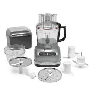 KitchenAid KFP1133CU 11- Cup Food Processor, Contour Silver