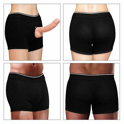 Underwear Panties Trans Boxer Packing Briefs O-Ring Strap-On Packer Harness Wear