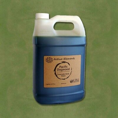 Official Acid Stain - 1 Gallon - Pacific Dogwood Color - Light Green