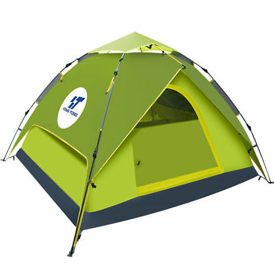 Waterproof 4-5 Person Automatic Instant Pop Up Hiking Tent Family Camping Tent for sale  USA
