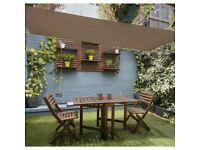 Coolaroo Summer Garden Shade Sail Rectangular Patio Light Weight Portable 13 x 7ft – Colour Mocha
