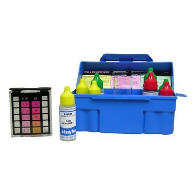 Taylor Troubleshooter DPD 6-Way Swimming Pool & Spa Test Kit - K-1004