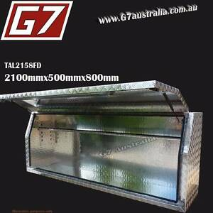 2100x500x800 Aluminium Tool Box long ute trailer truck toolbox HD Everton Park Brisbane North West Preview