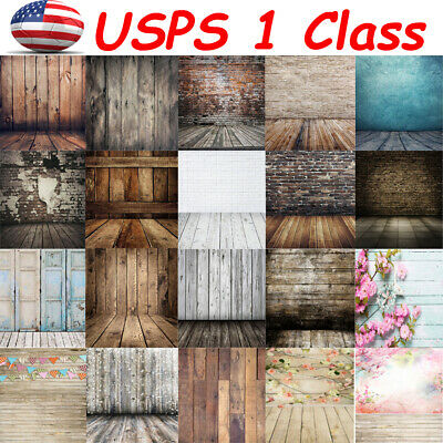 1pc 7x5ft Vintage Wood Plank Photography Backdrop Studio Photo Background Props](Photo Prop Backdrops)