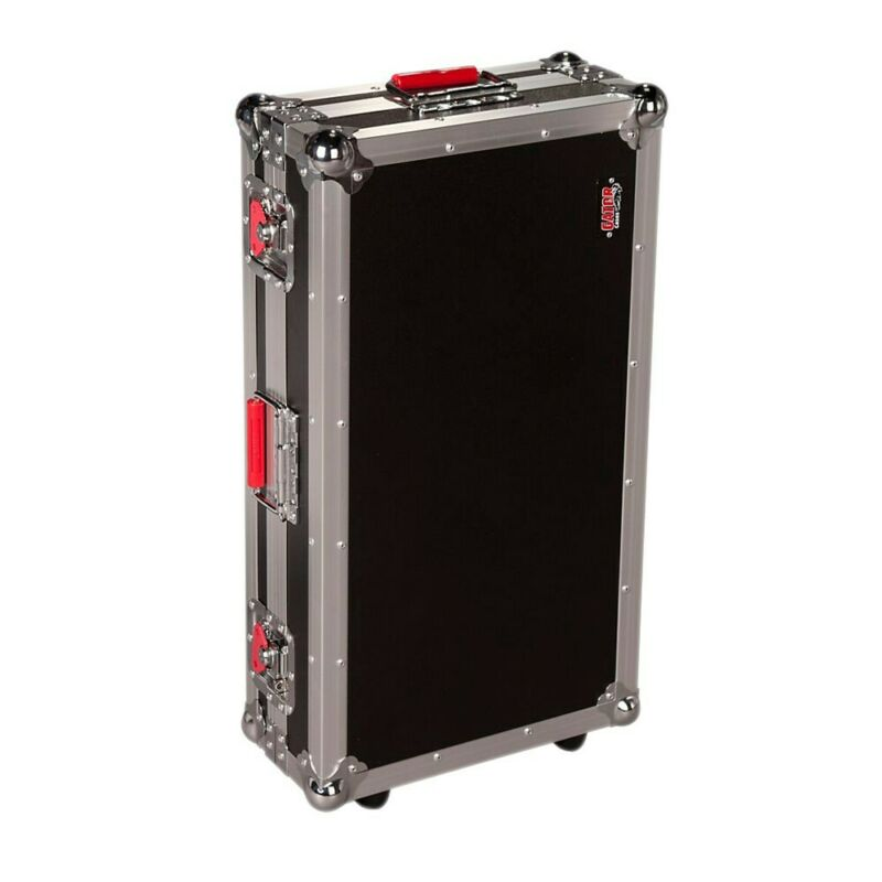Gator G-TOUR Pedal Board Large Wheeled Effects Pedal Board