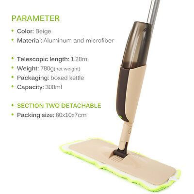 Hot Sale Spray Mop Cleaner Starter Kit Set Hard Floor Tile Wood Viny