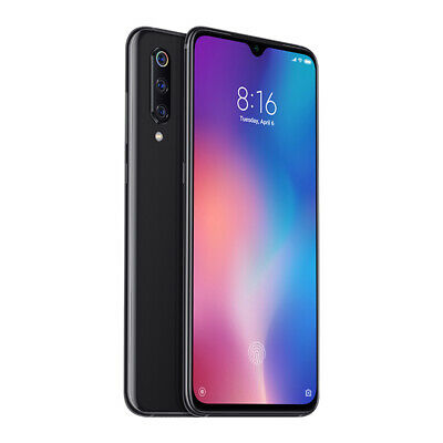 "Xiaomi Mi 9 64GB 6GB Black 6,39"" Smartphone NFC Global Version EU Plug Dual SIM"