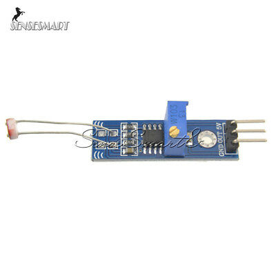Lm393 Optical Photosensitive Light Sensor Module Shield Dc 3-5v For Arduino