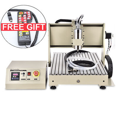 3axis Cnc 6040 Router 1500w Engraver Milling Drilling Machine 3d Carving 24k Rpm