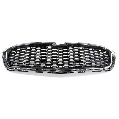 OEM NEW Front Center Grille Chrome Black 14 15 Chevrolet Malibu 22995179