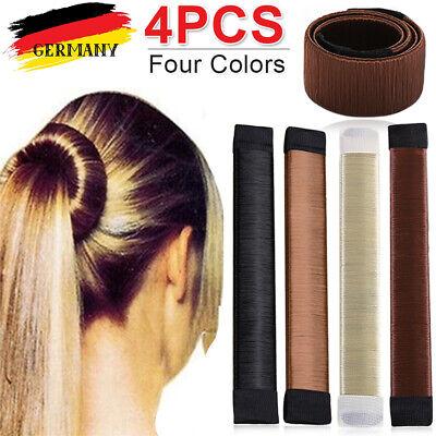 DE Donut Magic Hair Bun Maker Hair Styling frisur Frisurenhilfe Haarknoten Blond