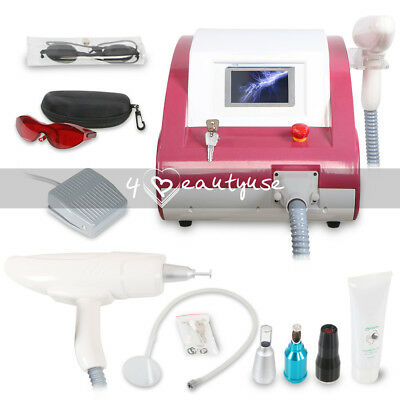 500w Q Switch Yag Laser Tatoo Removal Eyebrow Callus Laser Skin Rejuvenation Spa