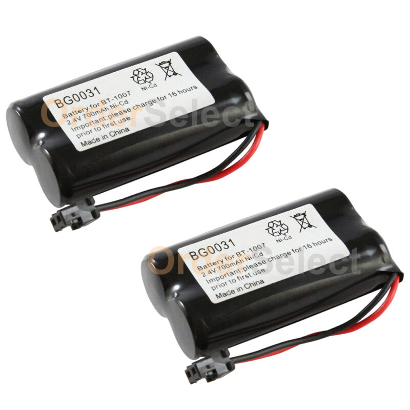 2x NEW Home Phone Battery for Uniden BT-1007 BT1007 BP904 BT904 BT-904 100+SOLD
