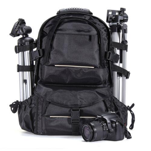 Deluxe Camera Backpack Bag Case for Sony Canon Nikon DSLR SL