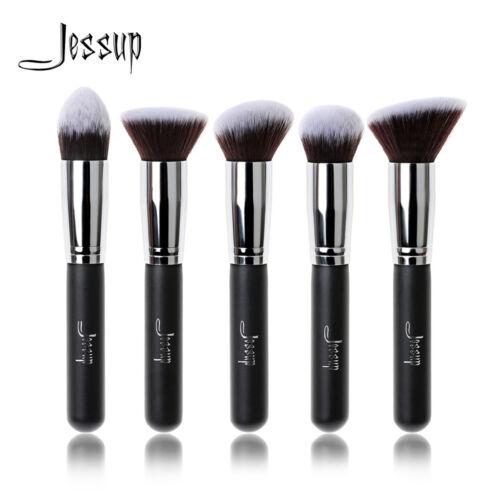 Jessup Hot Kabuki Makeup Cosmetic Brush Set Pro Professional Face Eye Tool Kit
