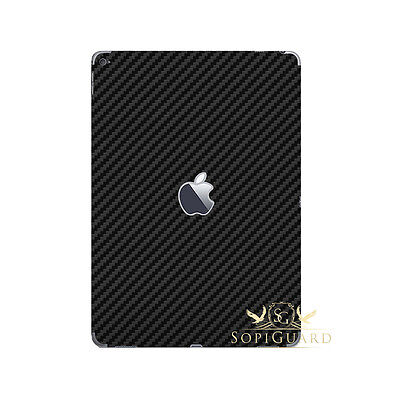 Carbon Fiber Skin Rear Back Film Protector for 1st Gen Apple iPad Pro 12.9