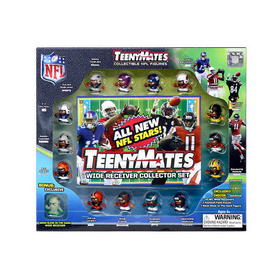 NFL Teenymates Series 7 Wide Receiver 15 Piece Set, With 35 Piece Puzzle.