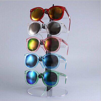 5 Pairs Sunglasses Glasses Rack Holder Bracelet Display Stand Frame Organizer Us