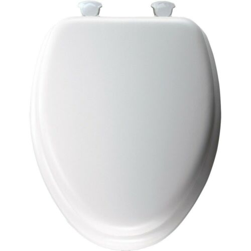 Cool Details About Bemis 113Ec 000 White Elongated Wood Core Soft Toilet Seat W Easy Change Hinges Caraccident5 Cool Chair Designs And Ideas Caraccident5Info