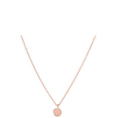 Gorjana Chloe Charm Adjustable Necklace In Rose Gold 178109R