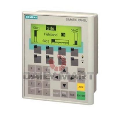 Siemens New 6av6641-0ca01-0ax1 Plc Mono Touch Screen Hmi Operator Panel Display