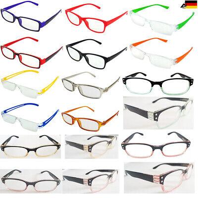 Modische Lesebrille Damen Herren Lesehilfe Dioptrien und Design Wählbar Brille