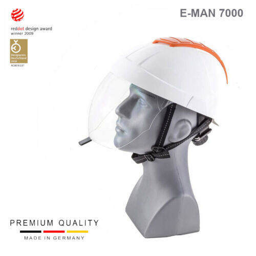 E-MAN 7000 | Helmet for Electrician (with fully retracable visor)