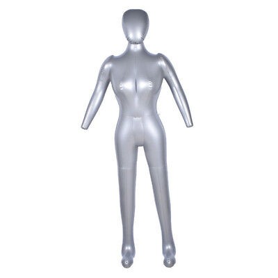 1 Pcs Inflatable Full Body Female Model With Arm Mannequin Window Display Prop