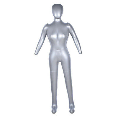 Inflatable Full Body Female Model Arm Mannequin Window Display Prop Practical