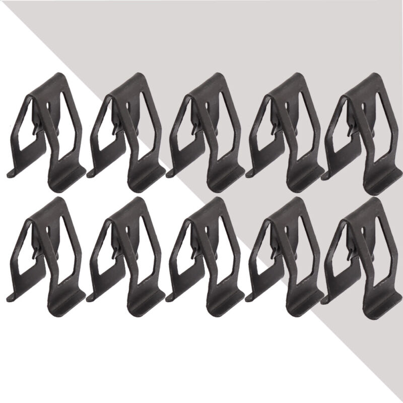 10× Car Console Dashboard Trim Metal Fastener Rivets Retainer Gadget Accessory