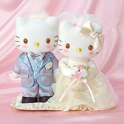 Sanrio Hello Kitty & Ciervo Daniel Boda Muñeca (Perlas) De Japón Con...