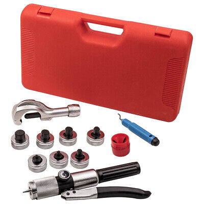 Hydraulic Pipe Tube Expander Swaging Expand 7 Lever Hvac Tool Reamer Kit Set