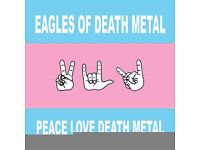 1 x Eagles of Death Metal standing ticket, Friday 26th at the Forum
