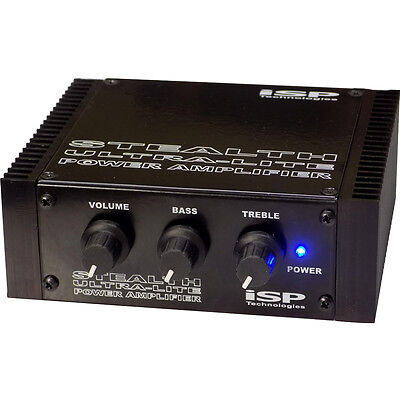 Isp Technologies Stealth Ultra Lite 180W Solid State Guitar Pedalboard Power Amp