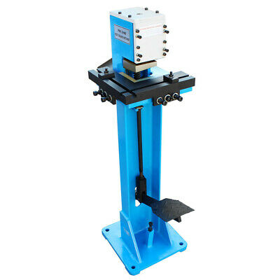 Hd 3x3 Foot Operated Notcher 16 Gauge Sheet Metal Corner Control Notching