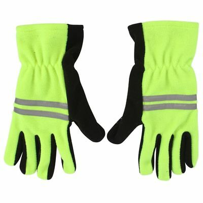 Adults ProClimate™ Hi-Vis Visibility 3M Reflective Thermal Fleece Work Gloves